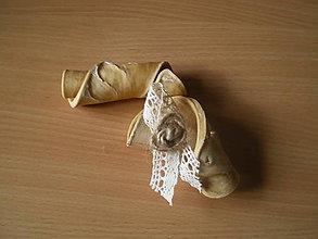 Pierka - vintage pierko-motúzok - 9048948_