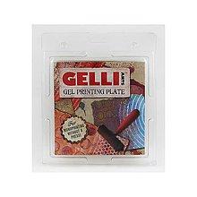 """Pomôcky/Nástroje - Gel Printing Plate, Gélová podložka 6x6"""" - 9046501_"""