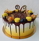 Dekorácie - Čísla na tortu - 9049521_