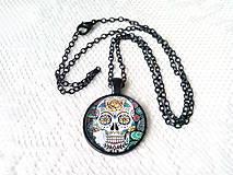 Náhrdelníky - Sugar skull náhrdelník - 9047821_