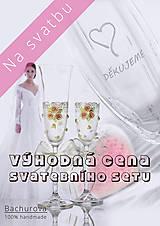 Svadobné poháre _výhodná cena