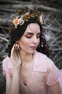 Náušnice - Kvetinové náušnice \