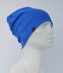 Doplnky - Čiapka Elastic Modrá Paris - 9046484_