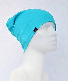 Detské čiapky - Čiapka Elastic Tyrkis - 9046523_