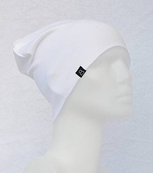 Detské čiapky - Čiapka Elastic biela - 9048167_