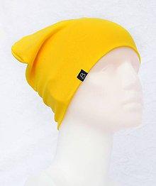 Detské čiapky - Čiapka Elastic žltá - 9048226_