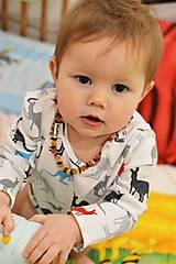 Detské oblečenie - body klokany - 9049909_