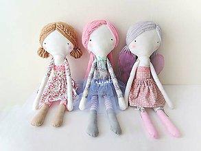 Hračky - Len ja a môj svet - autorská bábika V. - 9049057_