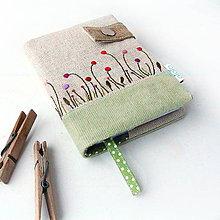 Papiernictvo - Zápisník Štylizovaná lúka - A6 - 9048555_