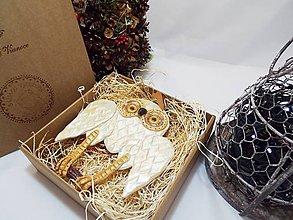 Socha - Sovička (darčekové balenie farba na výber) - 9048881_