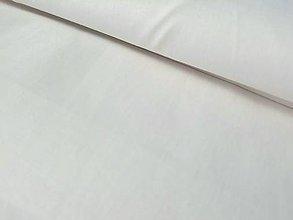 Textil - Biele bavlnené plátno - 9046875_