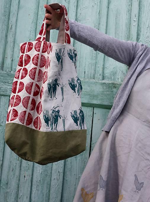 Veľké tašky - trošku RecyTaška - 9053056_