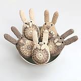 Dekorácie - Zajačikové kraslice (aj s chvostíkmi) - 9051135_