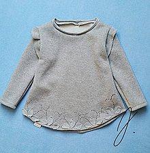 Detské oblečenie - Mikinka sivá - 9050523_