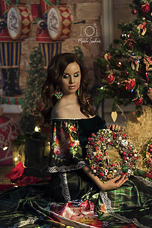 Šaty - šaty Tartan FOLK - 9050659_