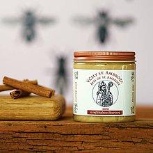 Potraviny - med z divých kvetov s cejlónskou škoricou - 9053410_