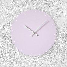 Hodiny - Nástenné hodiny Celoružové s bodkami - 9051190_