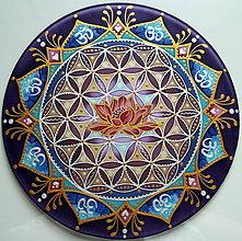 Dekorácie - Mandala vnútornej sily a múdrosti II. - 9051577_
