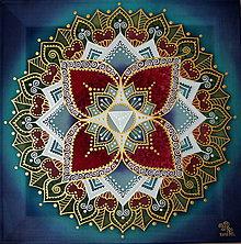 Obrazy - Mandala...Dar života a zdravia - 9051679_