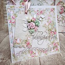 Papiernictvo - Svadobná pohľadnica - 9051053_
