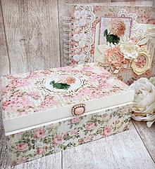 Krabičky - Vintage šperkovnica - 9053667_