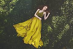 Šaty - Modrotlač - glam - 9051564_