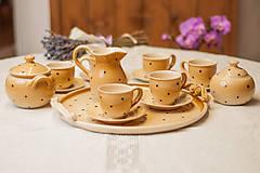 Nádoby - Keramická súprava na kávu - 9053136_