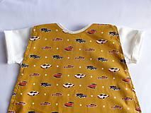 Detské oblečenie - Tričko pre superhrdinu - autá - 9050110_