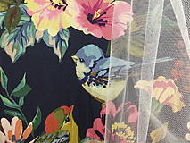 Detské oblečenie - Šaty s vlečkou - kvetované - 9054147_