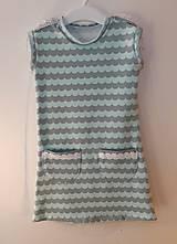 Detské oblečenie - Šaty s vlečkou - mint - 9054374_