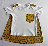 Detské oblečenie - Tričko pre superhrdinu - kaktus - 9054410_