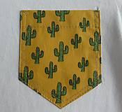 Detské oblečenie - Tričko pre superhrdinu - kaktus - 9054411_