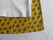 Detské oblečenie - Tričko pre superhrdinu - kaktus - 9054414_