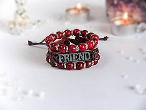 Náramky - Náramok ako vyjadrenie priateľstva - 9052845_