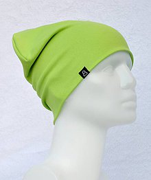 Detské čiapky - Čiapka Elastic zelená kiwi - 9052486_