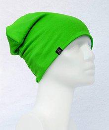Detské čiapky - Čiapka Elastic zelená - 9054300_