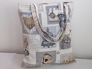 Nákupné tašky - ...vintage... - 9051343_