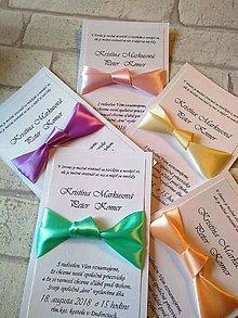 Papiernictvo - svadobné oznámenie - pastelky - 9052267_