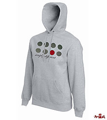 Oblečenie - Simply different - hoodie for him - 9050808_