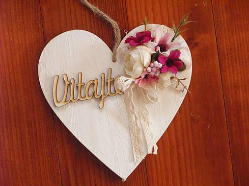c6f816616 Drevené srdce s nápisom / erikak - SAShE.sk - Handmade Dekorácie