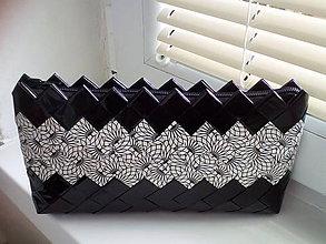 Kabelky - Čierno biela elegant.. - 9052813_