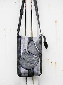 Kabelky - Originál malovaná crossbody - 9053184_