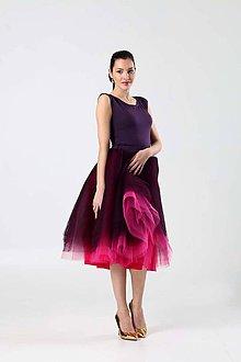 Sukne - Pink Violet tylová sukňa - 9055123_