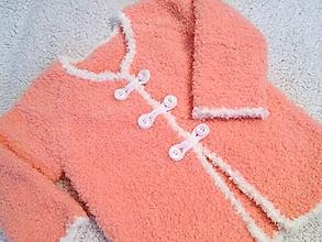 Detské oblečenie - Svetrík pre dievčatko - 9056037_