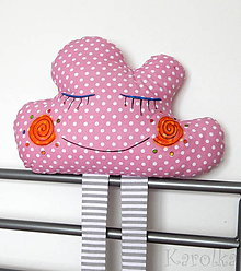 Textil - Detský vankúšik obláčik (bavlnený vankúšik - Obláčik n.2) - 9055011_