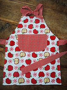 Textil - Jabĺčková zásterka obojstranná - 9055632_
