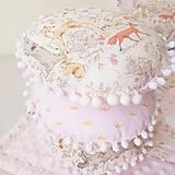 Textil - Gulaté vankúšiky lesné zvieratká - 9055787_