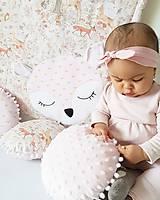 Textil - Gulaté vankúšiky lesné zvieratká - 9055807_
