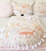 Textil - Gulaté vankúšiky lesné zvieratká - 9055815_