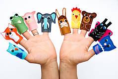 Hračky - Pišlické prstové maňušky - 9058572_